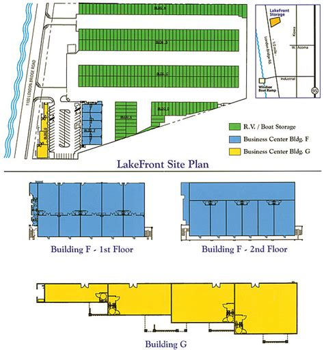 rv storage plans lakefront boat and rv storage site plans