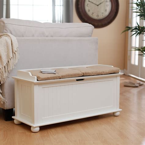 storage bench seat bathroom