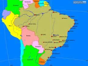 Neighboring Countries Of Brazil 28 Neighboring Countries Of Brazil Www Mappi Net