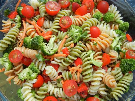 salad bar toppings italian pasta salad recipe dishmaps