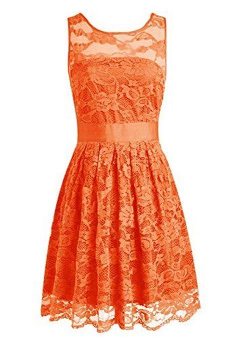 Dress Wanita Sw Dress Orange wedtrend floral lace dress bridesmaid dress homecoming dress size 2 orange wedtrend http