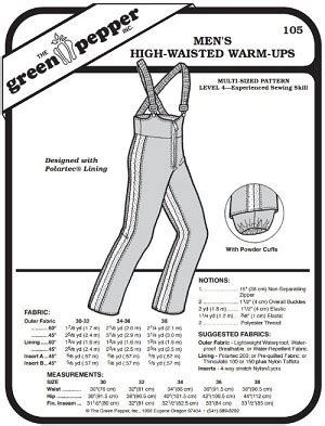 pattern sleuthing warm up men s high waisted warm ups overalls snow pants coverall