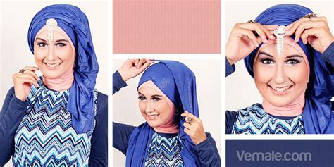 tutorial pashmina turban pesta hijabers tutorial sakinah tips jilbab pesta gaya turban