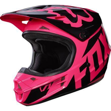 pink motocross helmets fox racing 2017 v1 helmet race motosport