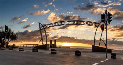 gold coast surfers paradise australien zentrum der gold coast