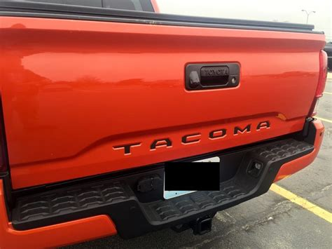 Window Decals Joplin Mo by Fs 2016 Toyota Tacoma Matte Black And Reflective Black
