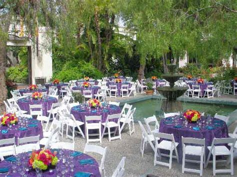 indoor outdoor wedding venues in los angeles los angeles river center and gardens southern california