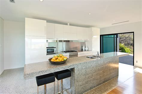 stainless steel kitchen island bench gallery the roozen residence margaret river