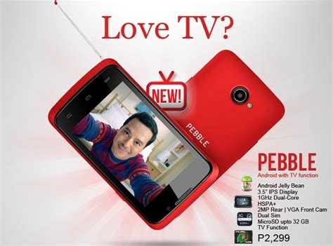 themes for android cherry mobile spark tv cherry mobile pebble android smartphone with tv function