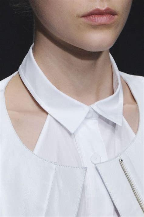 fashion collar white shirt collar detail up fashion design details united bamboo