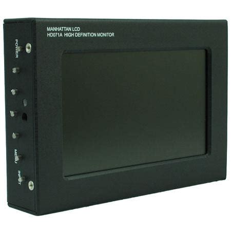 Lcd Wish manhattan lcd hd071ac 7 1in monitor canon battery plate