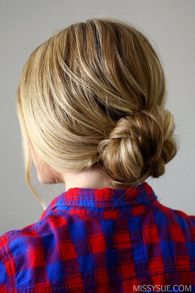 easy hairstyles you can do in 5 minutes quick and easy braided bun easy hairstyles you can do in