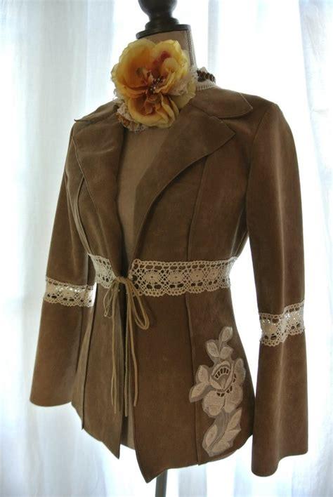 Jaket Vintage Rebel Sandwash vintage suede jacket hippie boho chic retro stevie nicks