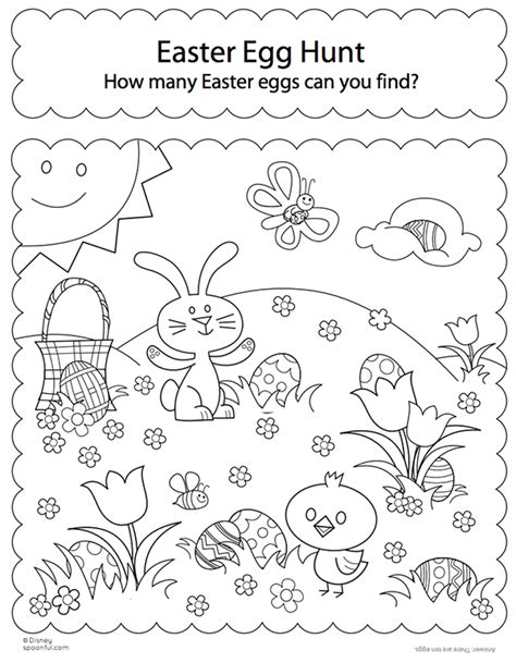 coloring pages easter egg hunt free easter colouring pages the organised
