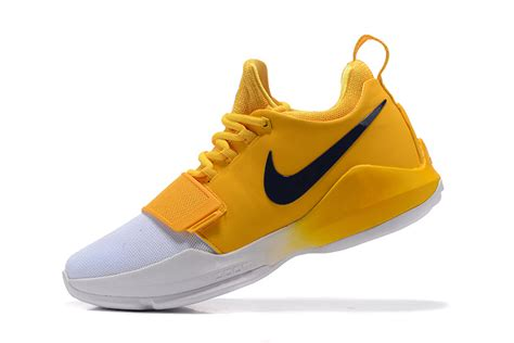 pacers basketball shoes new style nike pg1 paul george ep indiana pacers yellow