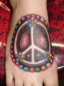 peace sign tattoos designs ideas and meaning tattoos