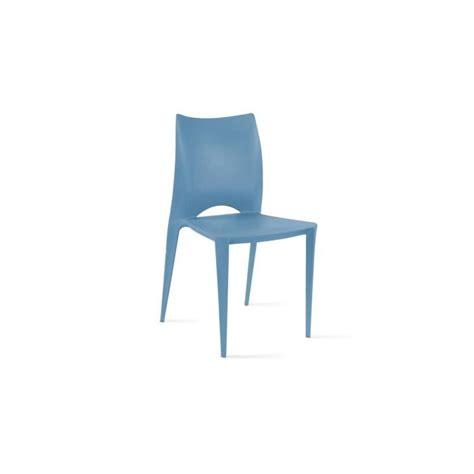 Chaise De Jardin Plastique Pas Cher by Chaise De Jardin En Plastique Bleu Achat Vente Pas Cher