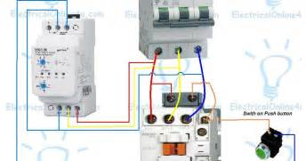 phase controller wiring phase failure relay diagram electrical 4u