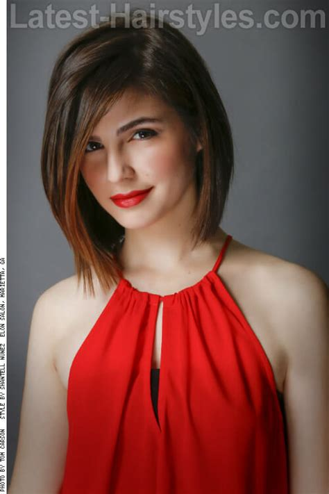 womans haircut back touches top of shoulders front is longer 20 of the most exquisite medium length bob hairstyles ever