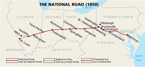 Traveling The National Road Decline And Rebirth Of The