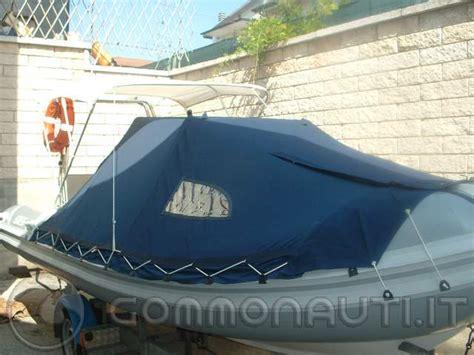 tenda per gommone vendo tenda ceggio nautico