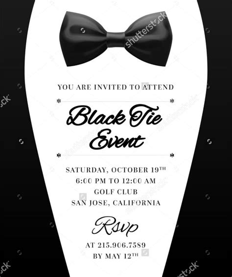 Formal Invitation Templates Free by 7 Formal Email Invitation Templates Design Templates