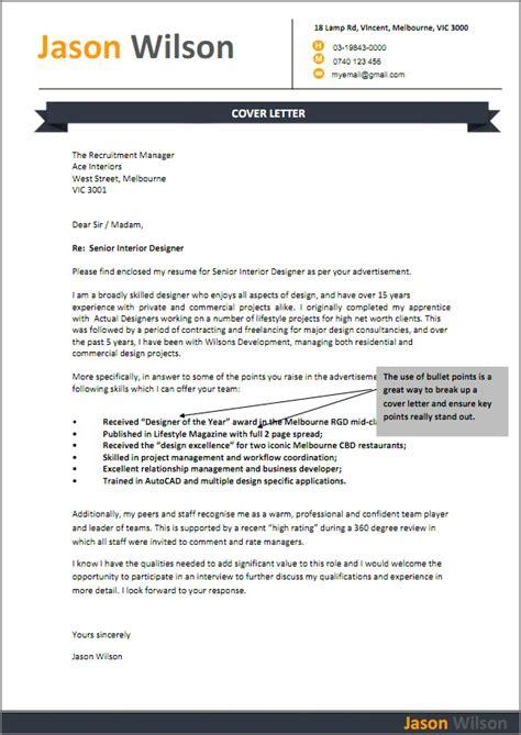 Letter Template Australia   formal letter template