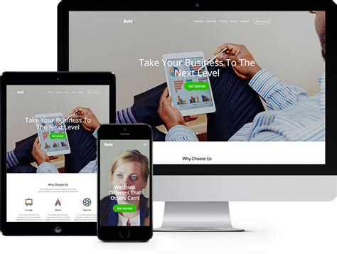 free templates for websites using bootstrap bold free website template using bootstrap