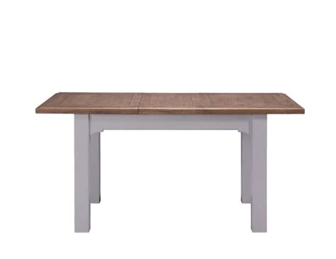 Two Tone Dining Tables Everette Two Tone Extending Dining Table