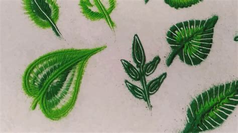 leaf pattern rangoli 25 easy rangoli leaf patterns using matchstick toothpick