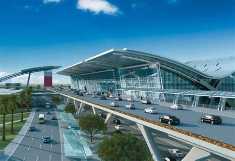 Qatar Airways Interior Hamad Airport To Open Early Next Year Minister