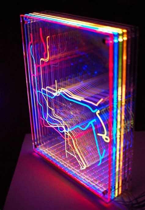 how to cut acrylic lighting panels quot in transit nyc quot is an animated light sculpture featuring