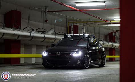 volkswagen vento black modified volkswagen jetta sedan gli hre wheels tuning cars sedan