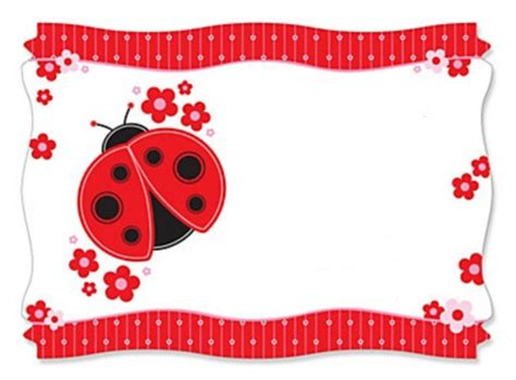 Ladybug Birthday Card Template by Free Ladybug Baby Shower Invitation Template Invitations