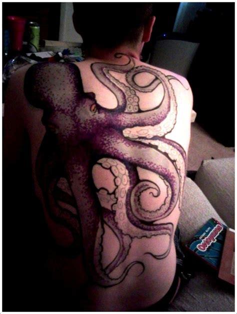 octopus tattoo fail 30 tattoos featuring squid or octopus in designs