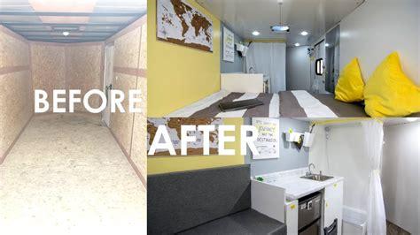 convert to mobile converting a cargo trailer into a tiny mobile home