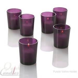 Eastland Votive Holder Purple Set Of 72 Richland Votive Candles Eastland Votive Holders Set Of 144 Purple Candles Wedding And Glass