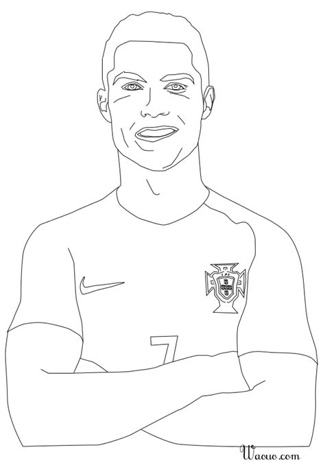 coloring pages ronaldo cristiano ronaldo 2015 coloring pages