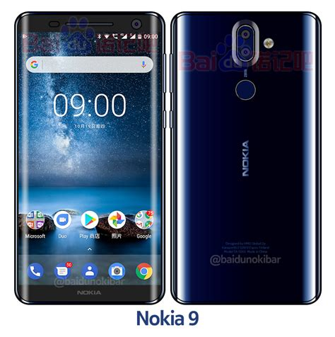 Dan Model Hp Nokia Xl new polished blue variant of nokia 9 surfaces