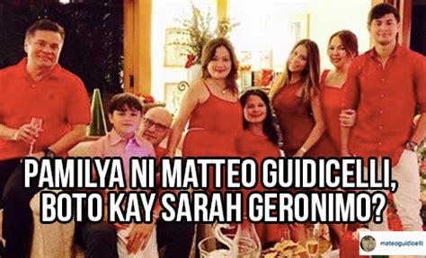 sarah and matteo latest news gaano ka supportive si sarah geronimo kay matteo guidicelli
