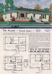 Aladdin Homes Floor Plans modern ranch hipped roof 1951 alamo aladdin readi