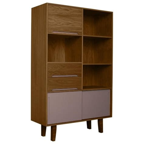 Modern Vintage Furniture Uk by Buy Fusion Living Modern Retro Walnut Grey Book