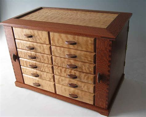 Handmade Wood Jewelry Box - handmade wooden jewelry boxes are the unique