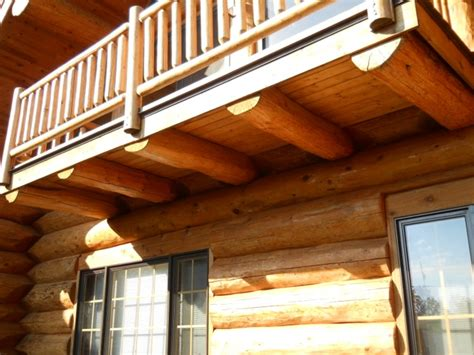 cantilevered deck common problems with middle aged log homes edmunds company