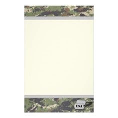 printable military stationary deer stationery template free deer printable stationery