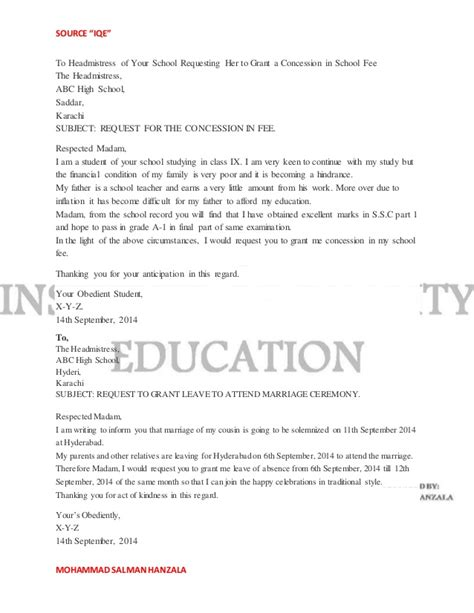 application letter sle docx application letter for college fees concession 28 images