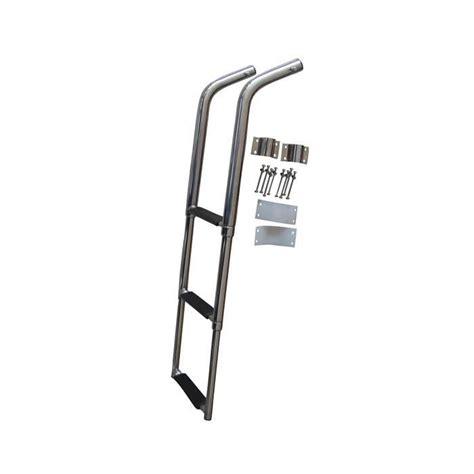 boat ladder west marine west marine telescoping swim ladder with safety stick