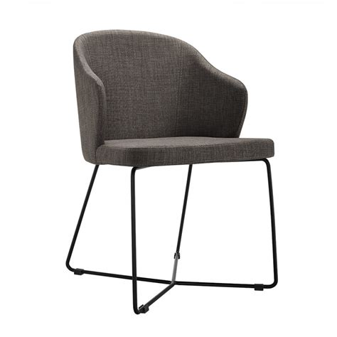 modern grey dining chairs modern grey fabric dining chair set of 2