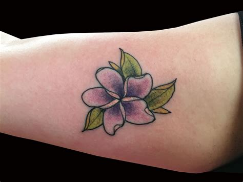 moklas tattoo plumeria pictures to pin on pinterest