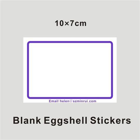 Border Stiker Shells Blue 2011 List Stiker writable blank with blue borders eggshell stickers from china manufacturer shenzhen minrui